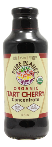Tart Cherry Concentrate - Organic - 16 oz Liquid Front