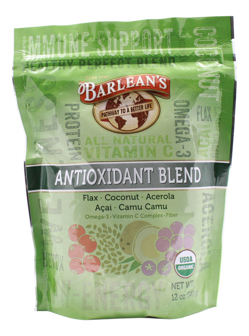 Antioxidant Blend - 12 oz Powder Front