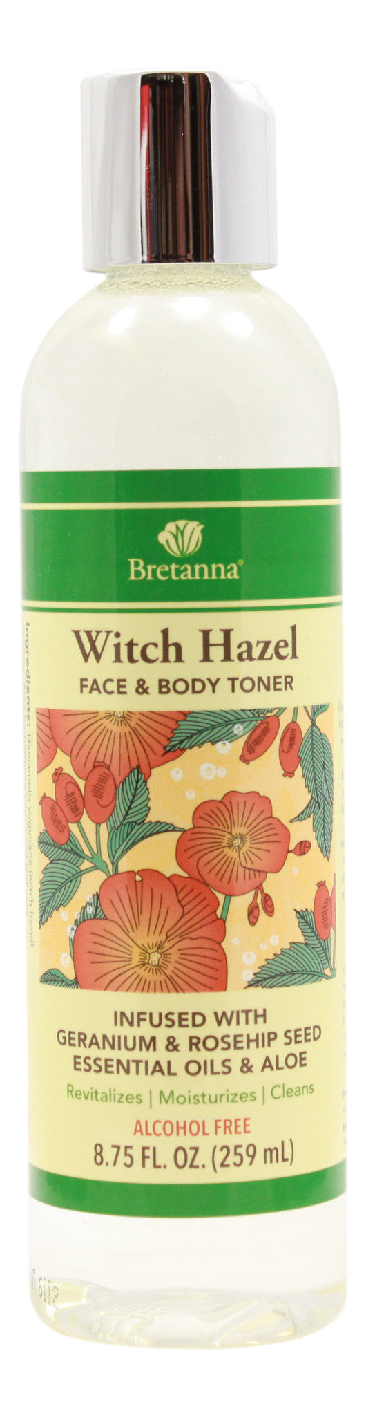 Witch Hazel Geranium & Rose Hip - 8.75 fl oz - Front
