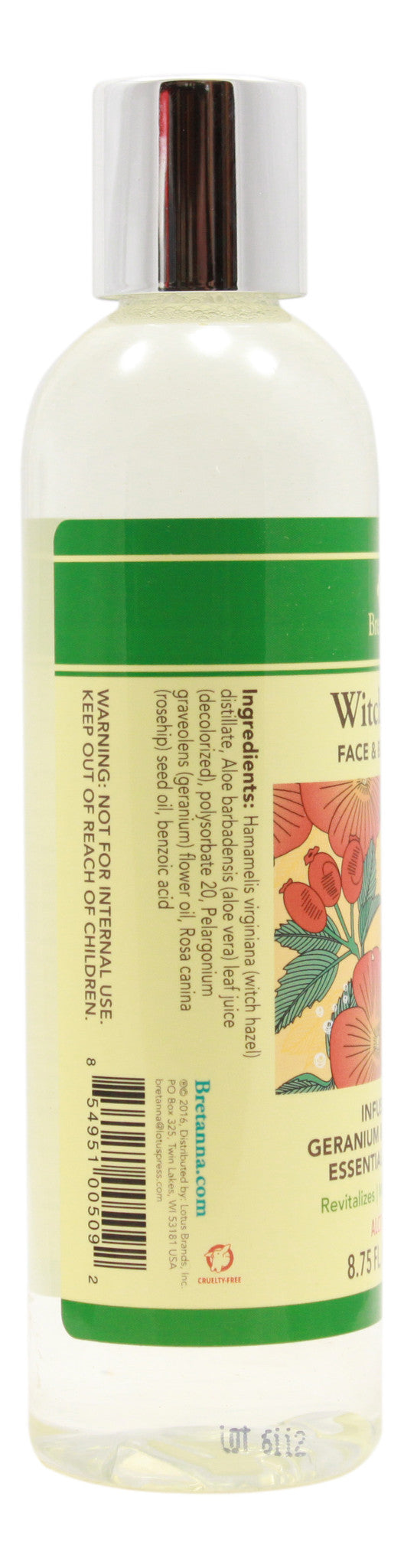 Witch Hazel Geranium & Rose Hip - 8.75 fl oz - Info