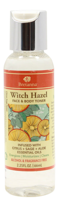 Witch Hazel Citrus & Sage - 2.25 fl oz - Front