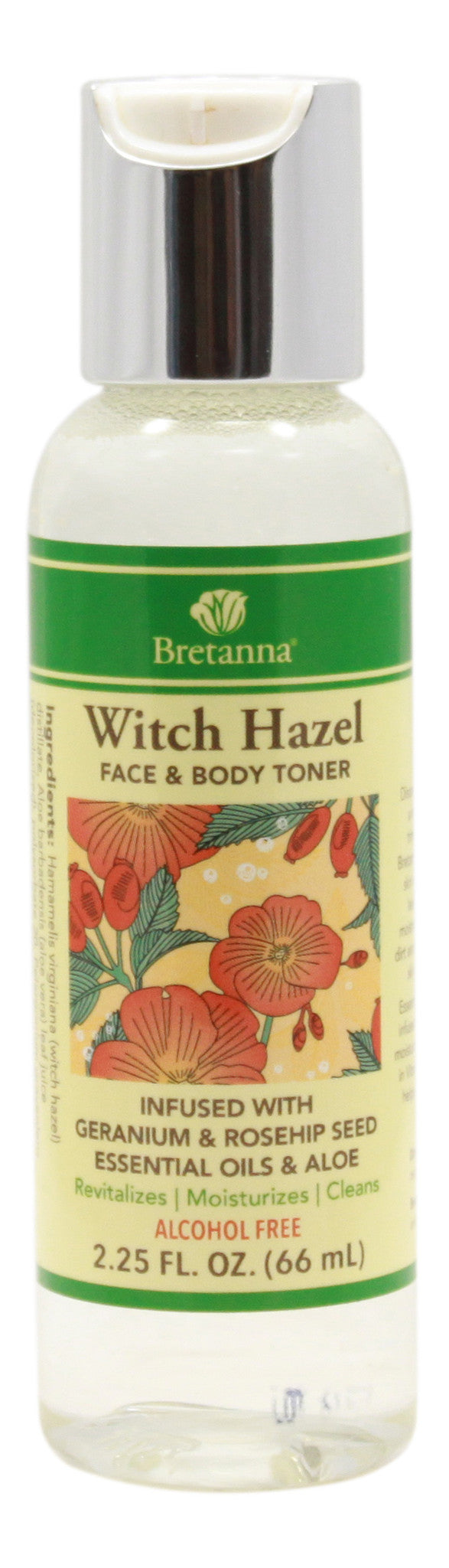 Witch Hazel Geranium & Rose Hip - 2.25 fl oz - Front