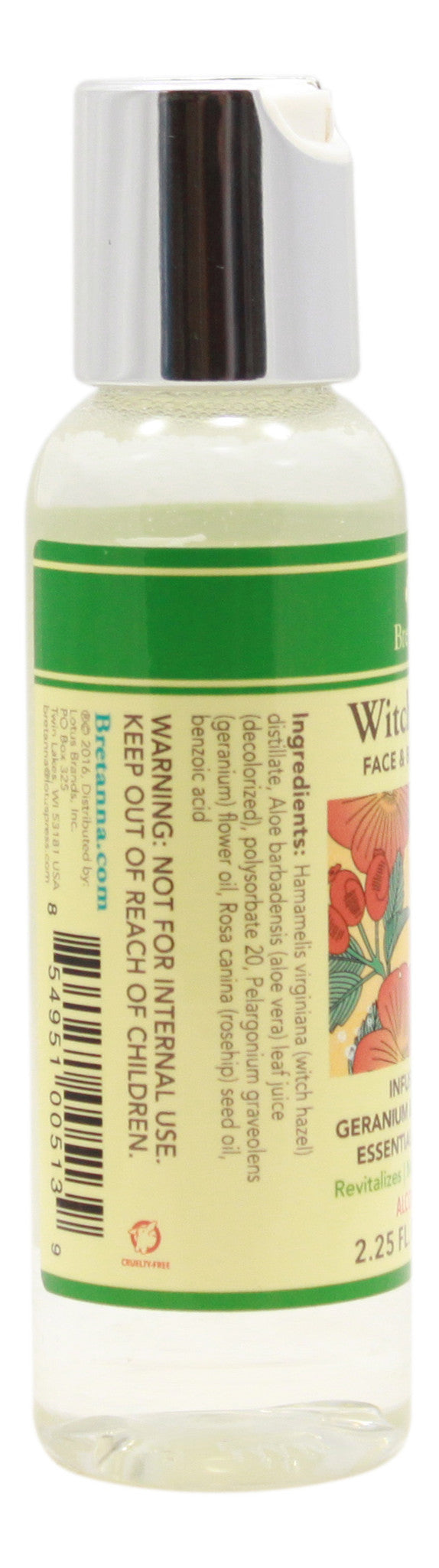 Witch Hazel Geranium & Rose Hip - 2.25 fl oz - Info