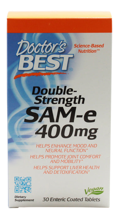 Sam-E 400 mg - 30 Tablets - Front
