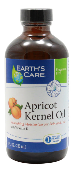 Apricot Kernel Oil - 8 oz Liquid - Front
