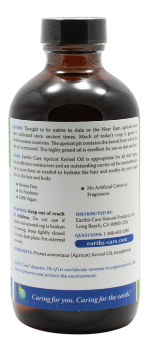 Apricot Kernel Oil - 8 oz Liquid - Info