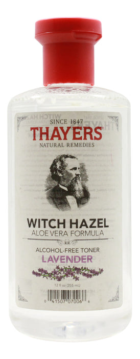 Original Witch Hazel with Lavender - 12 oz Liquid - Front