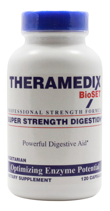 Super Strength Digestive - 120 Capsules - Front