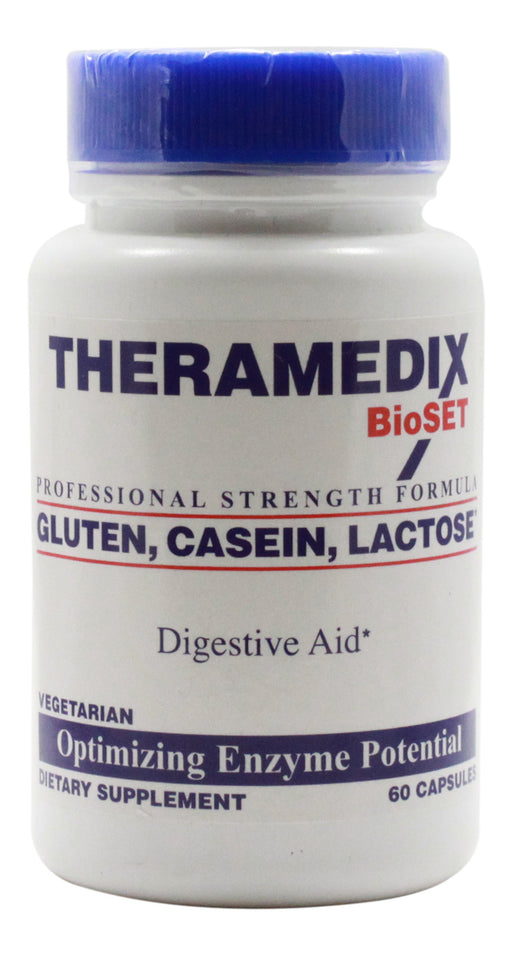 Gluten, Casein, Lactose, Digestive Aid - 60 Capsules - Front