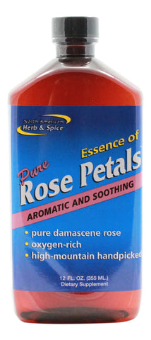 Essence of Pure Rose Petals - 12 oz Liquid - Front