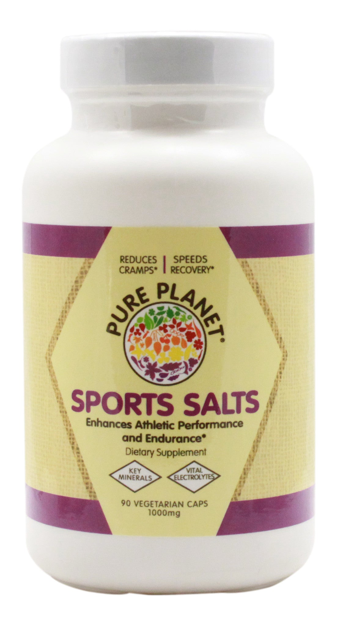 Sports Salts - 90 Capsules - Front