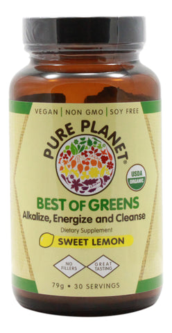 Best of Greens - Organic Lemon - 79 g - Front