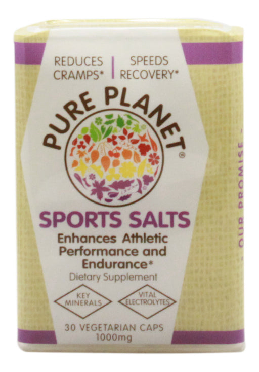 Sports Salts - 30 Capsules - Front