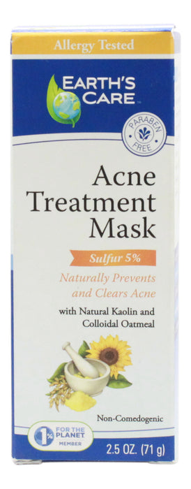 Acne Treatment Mask - 2.5 oz - Front