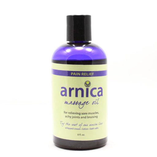 Arnica Massage Oil - 8 oz - Front