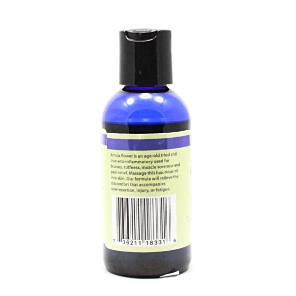 Arnica Massage Oil - 4 oz - Info