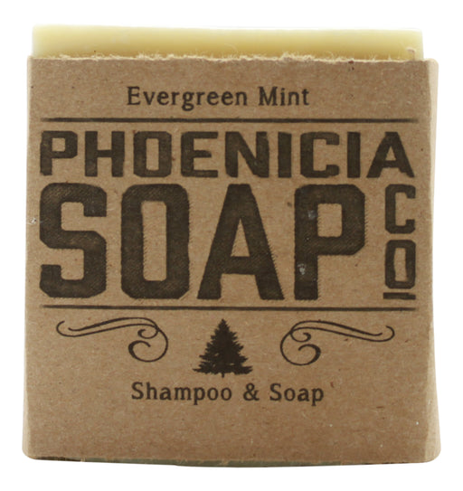 Phoenicia Soap - Evergreen Mint - 1 Bar