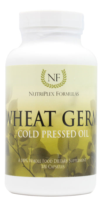 Wheat Germ Oil - 100 Capsules Bottle