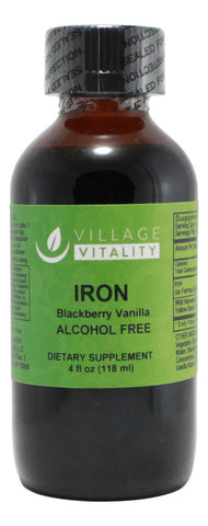 Iron Blackberry Vanilla Flavor - 4 oz Liquid Front