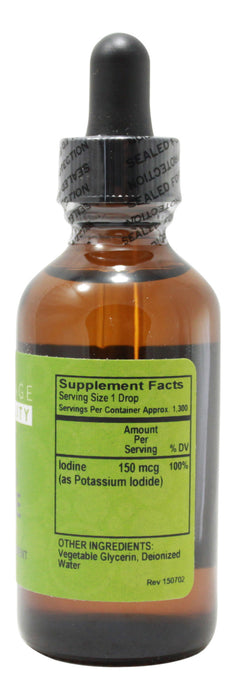 Liquid Iodine - 2 oz Liquid Supplement Facts