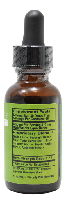 Aller-Calm Alcohol Free - 1 oz Liquid Supplement Facts