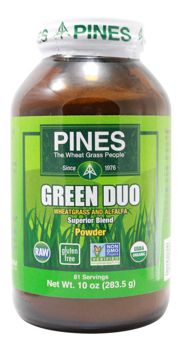 Green Duo - 10 oz Powder Front