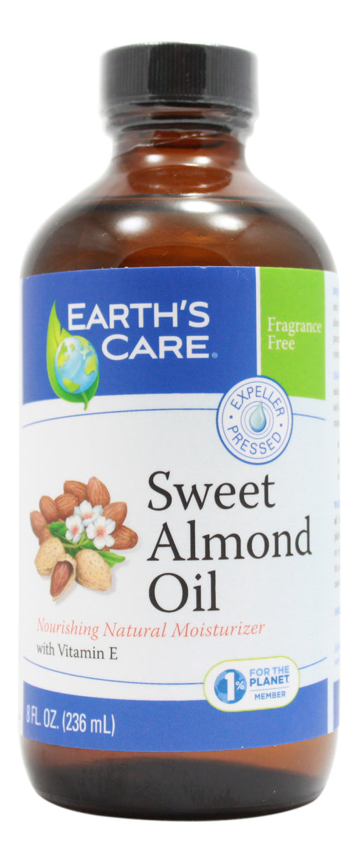 Sweet Almond Oil - 8 oz Liquid Front