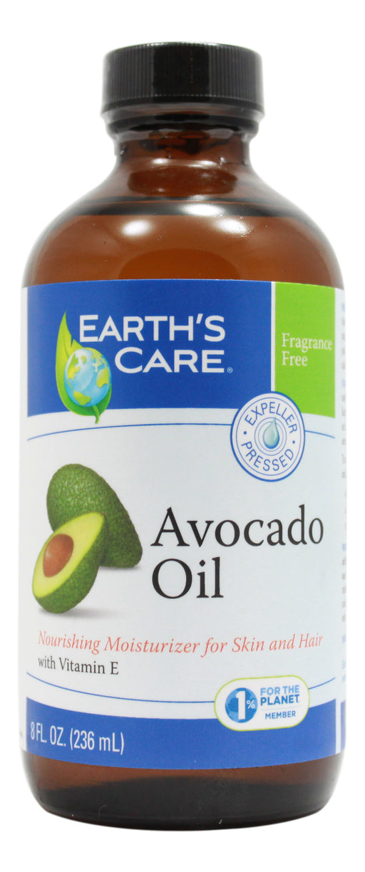 Avocado Oil - 8 oz Oil Front