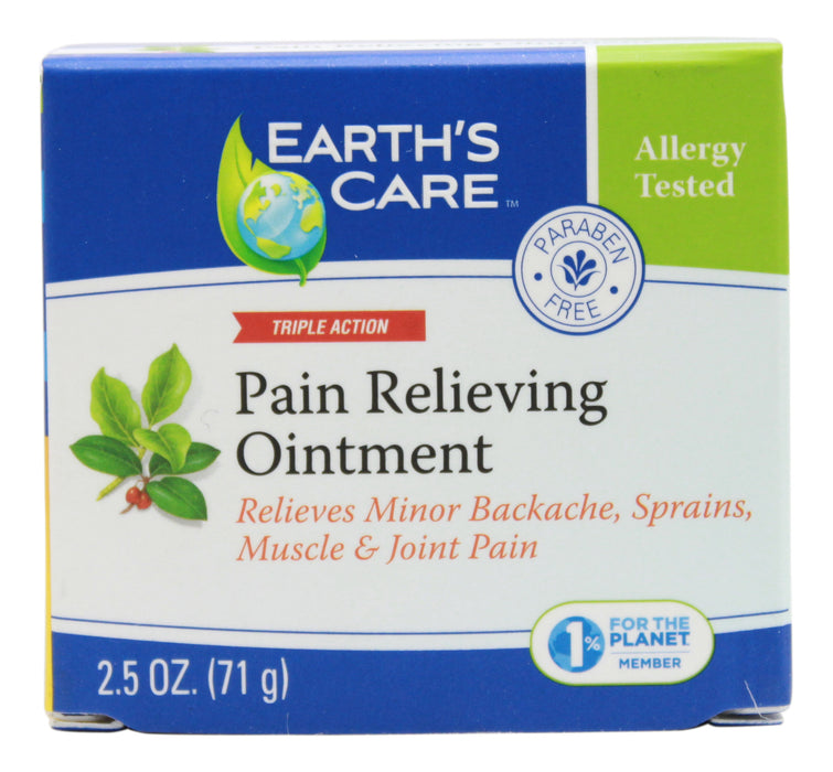 Pain Relieving Ointment - 2.5 oz Jar Front