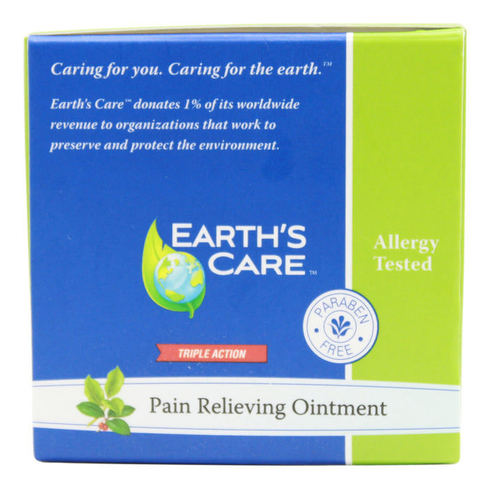 Pain Relieving Ointment - 2.5 oz Jar Side 2