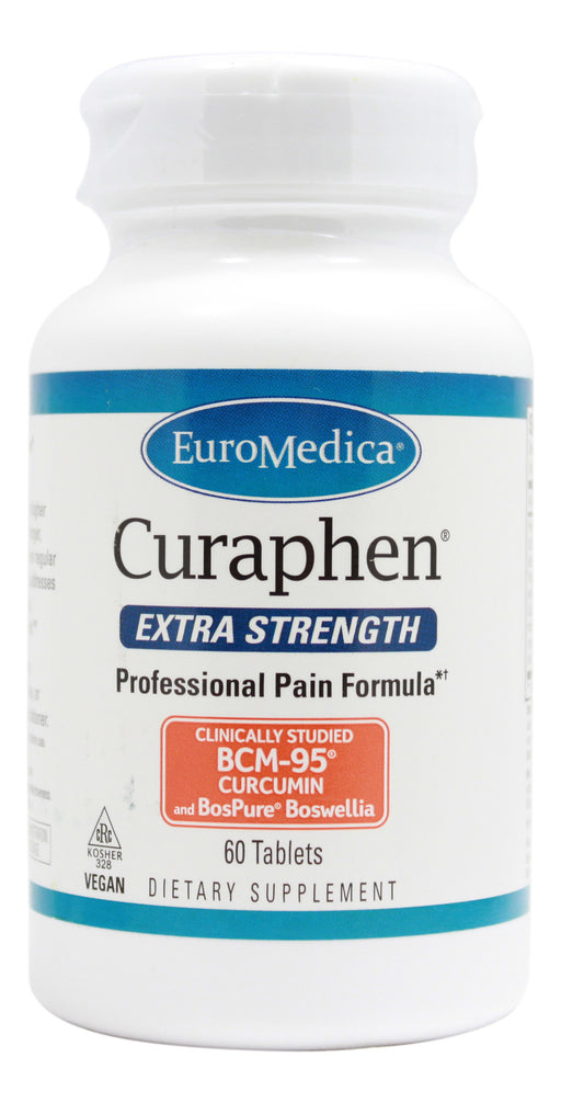 Curaphen Extra Strength - 60 Tablets Front