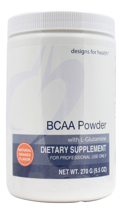 BCAA Powder with L-Glutamine - 9.5 oz Powder Front