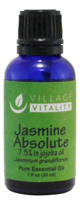 Jasmine Absolute Essential Oil - 1 oz - Front