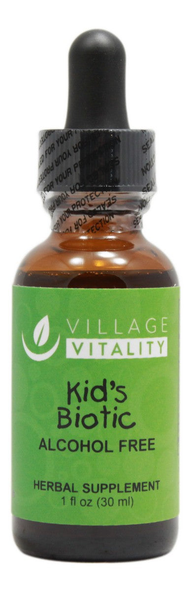 Kid's Biotic Alcohol Free - 1 oz Liquid - Front