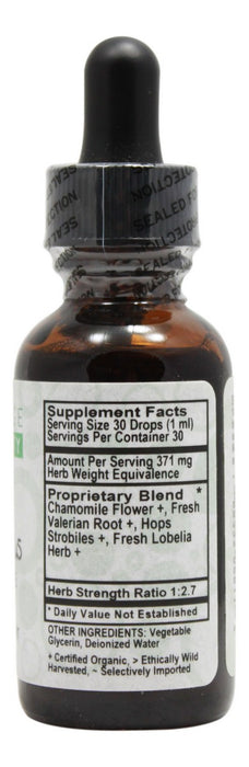 Kid's Mellow Plus - 1 oz Liquid - Supplement Facts