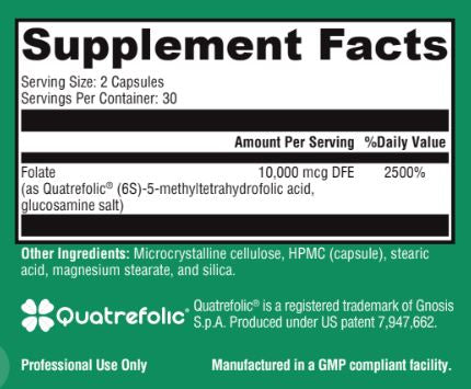 L-Methylfolate 5mg - 60 capsules