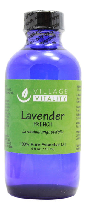 Lavender (French) Essential Oil - 4 oz - Front