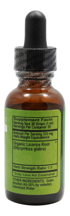 Licorice - 1 oz Liquid - Supplement Facts