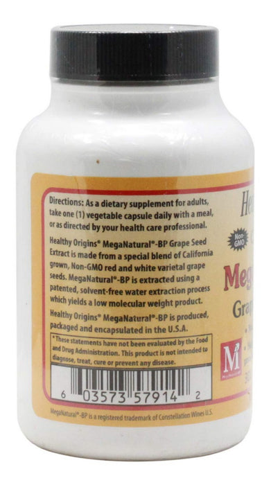 MegaNatural BP 300 mg - 60 Capsules - Information