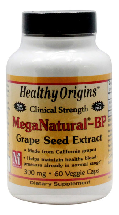 MegaNatural BP 300 mg - 60 Capsules - Front