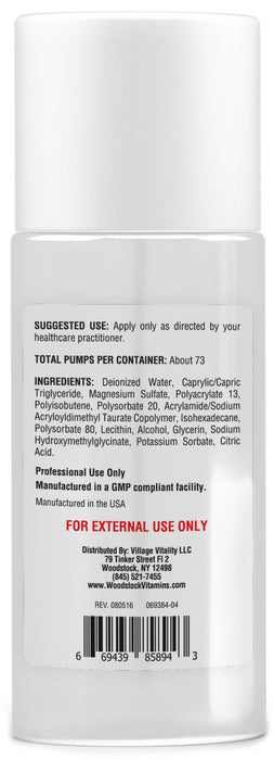 Magnesium Topical - 4 oz Cream