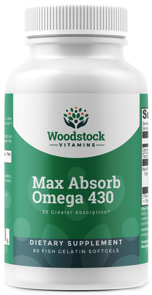 Max Absorb Omega 430 - 60 Softgels
