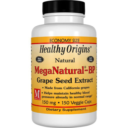 MegaNatural-BP Grape Seed Extract 150mg - 60 Capsules