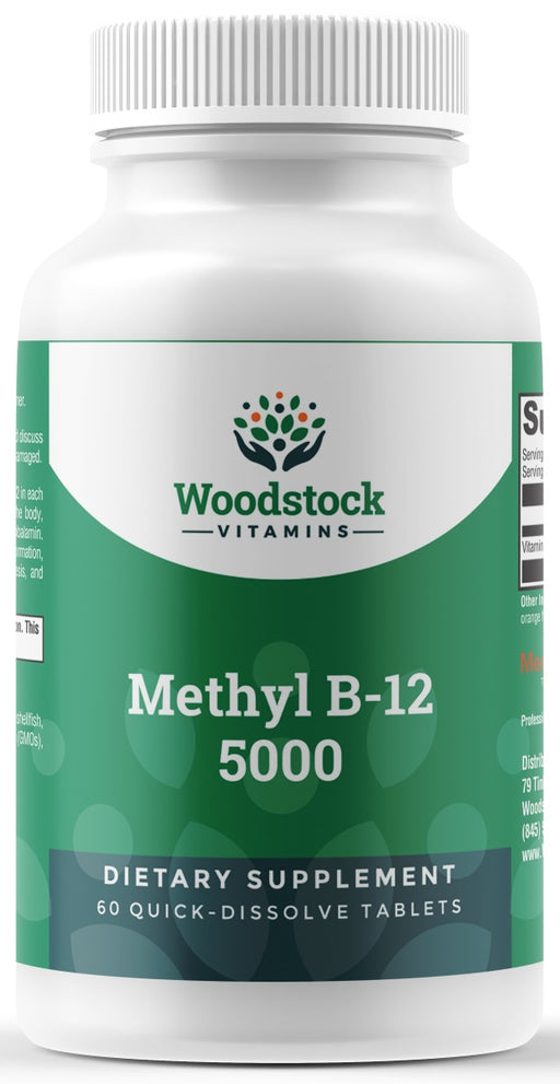 Methyl B-12 5,000 - 60 Tablets