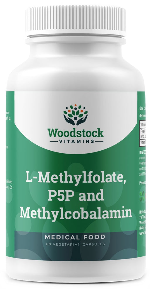 L-Methylfolate P5P and Methylcobalamin - 60 Capsules