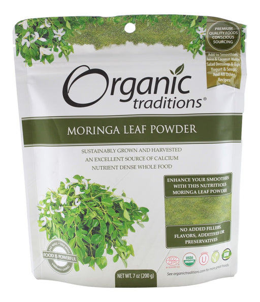 Moringa Leaf Powder - 7 oz - Front