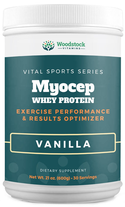 Myocep Whey Protein Powder Vanilla - 21 oz