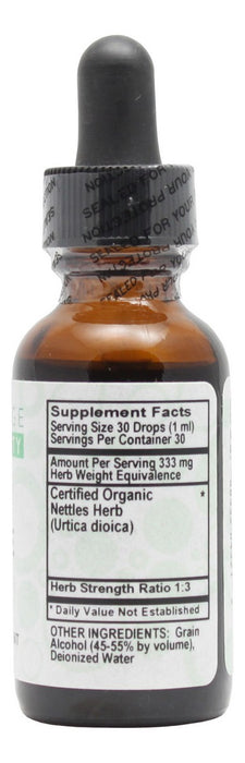 Nettle - 1 oz Liquid - Supplement Facts