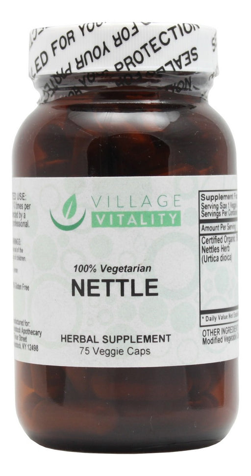 Nettle - 75 Capsules - Front