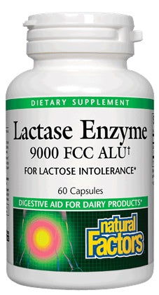 Lactase Enzyme 9000 - 60 Capsules